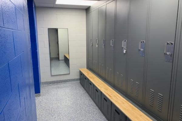 Liberty Police Station Locker Rooms - 2019
