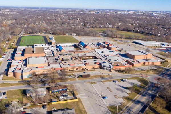 Olathe North High School - 1958