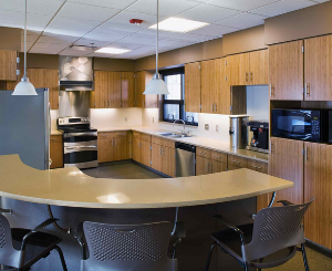 Kitchen at Lenexa Fire Station #5